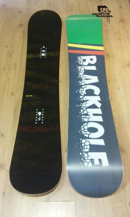 Black Hole Escape Wide snowboard tavola