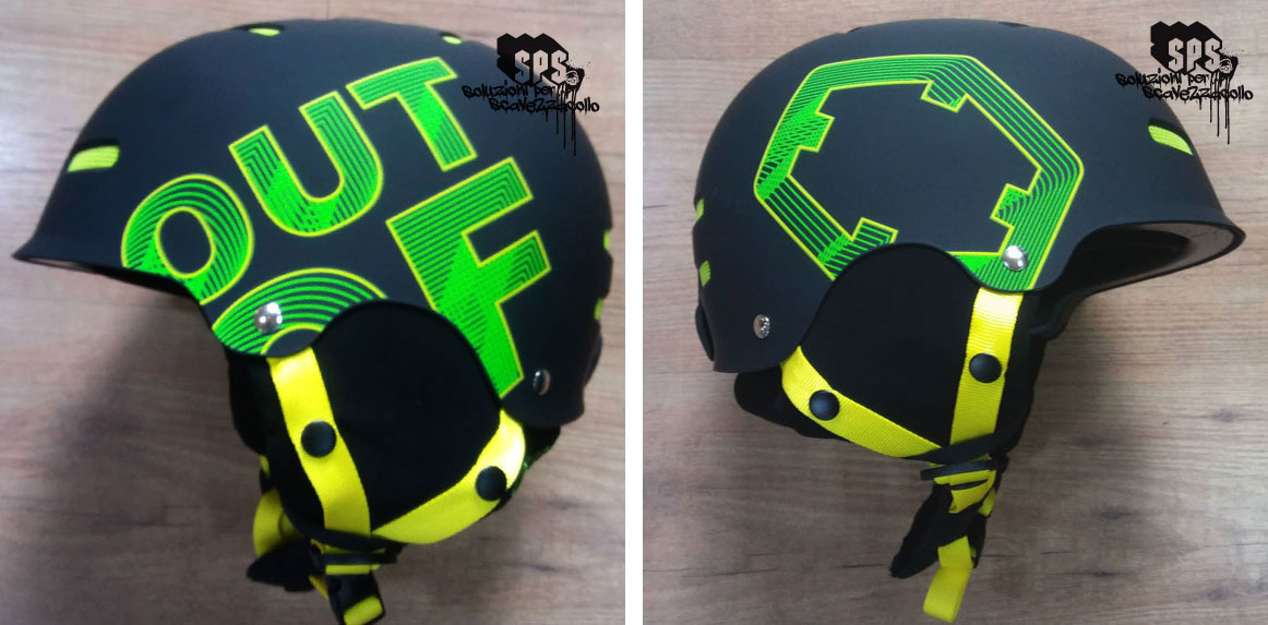 Casco Out Of Wipeout Black Green